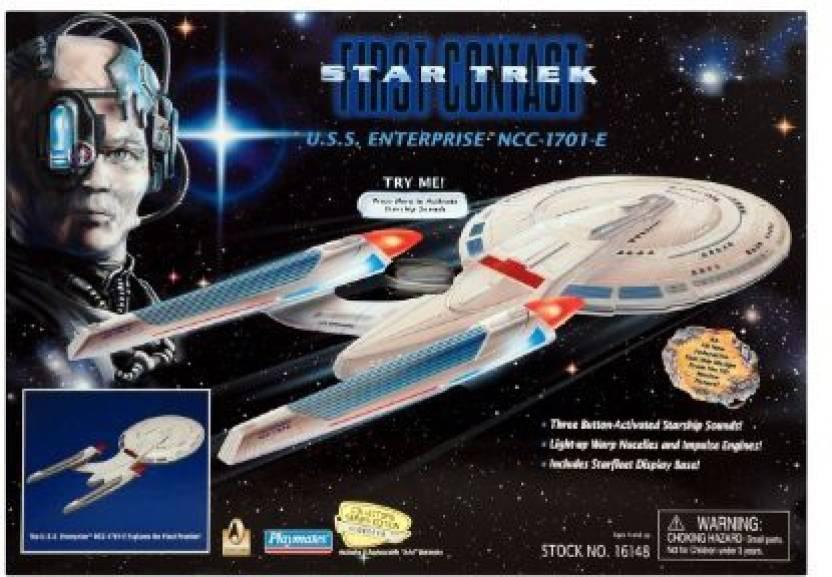 Star Trek First Contact USS Enterprise Electronic Starship