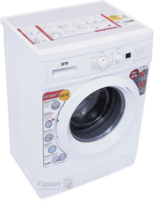 Beautiful Ifb Front Door Washing Machine Part - 11: IFB 6.5 Kg Fully Automatic Front Load Washing Machine White