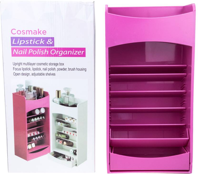 Awesome Nail Polish Organizer Box Vignette - Nail Paint Design Ideas ...