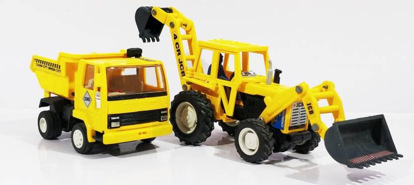 Jack Royal Construction Kit - Type 11 -JCB-Dumper(Yellow