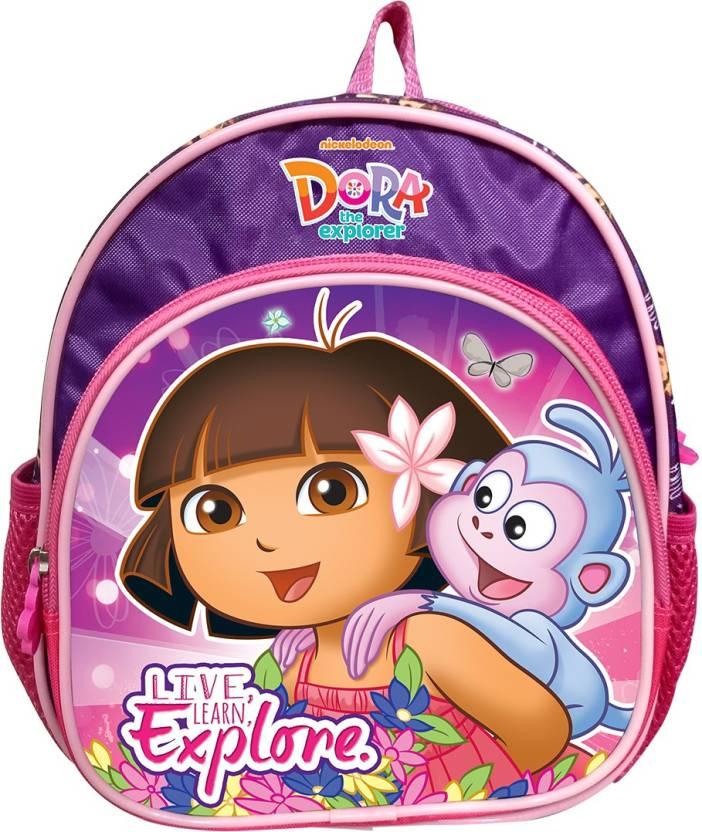My Baby Excel Dora 10 inch Bag School Bag (Multicolor 4f12732b2ebc2