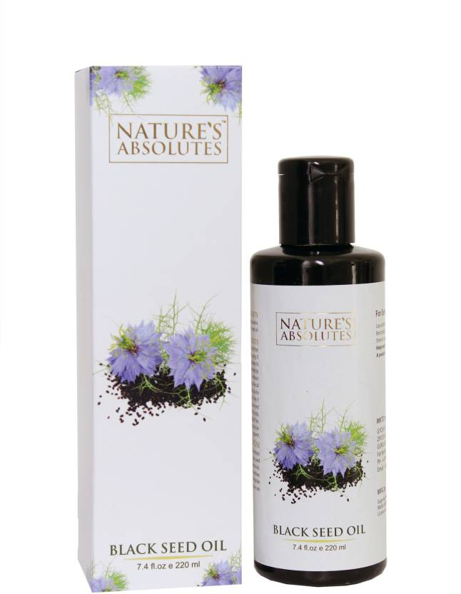 Nature's Absolutes black seed oil for hair and skin - Price