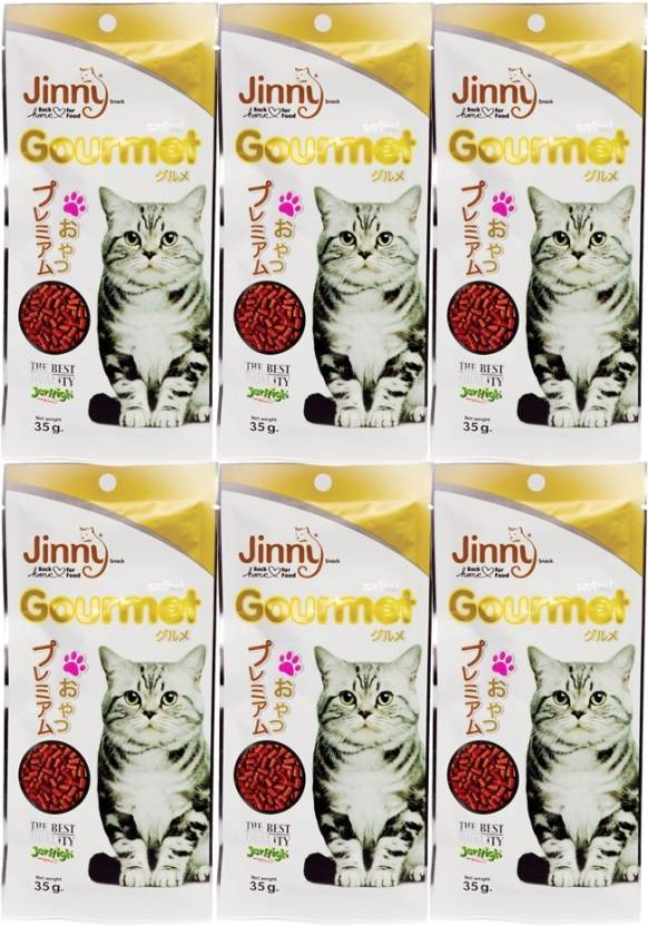 Jerhigh Jinny Gourmet 35g  For Cat Liver Cat Treat Price in India