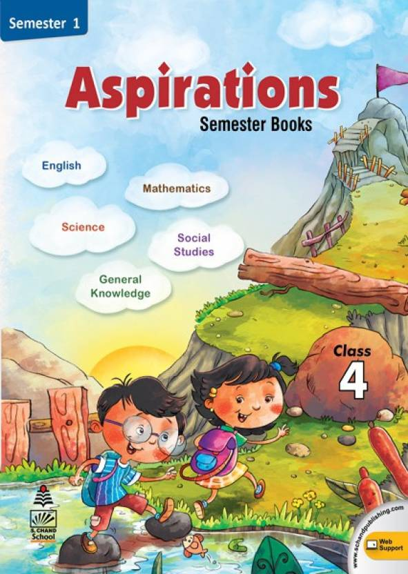 Aspirations Semester Book Semester 1 (Class - 4) First
