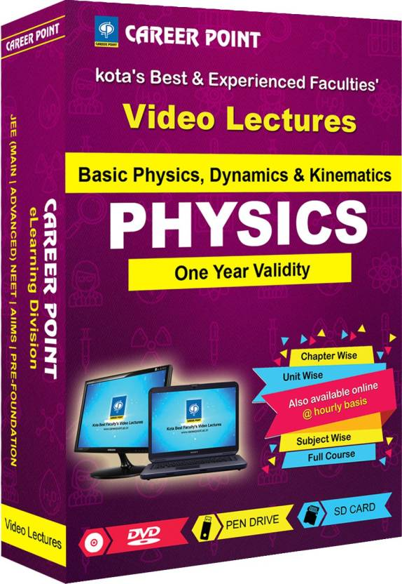 Career Point Kota NEET   JEE Video Lectures Basic Physics,Dynamics