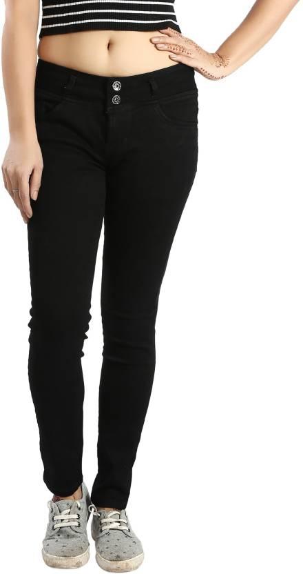 705ede08caf Fck-3 Slim Women s Black Jeans - Buy Fck-3 Slim Women s Black Jeans Online  at Best Prices in India