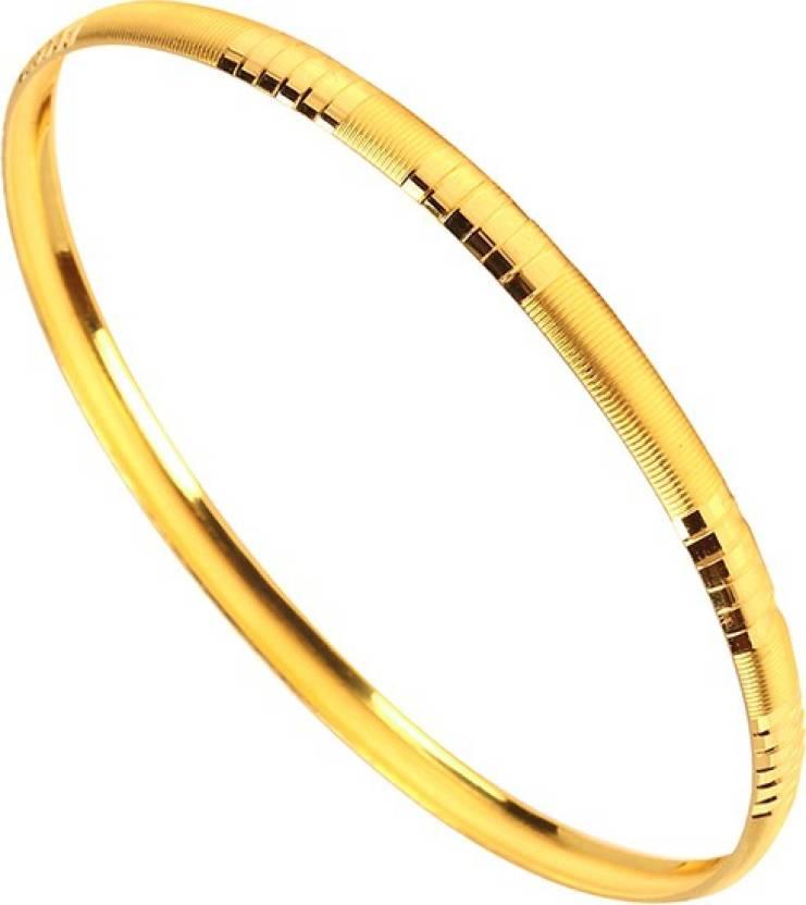 RSBL Augmont BIS Hallmark Machine Design Bangle 2 8 9g Yellow