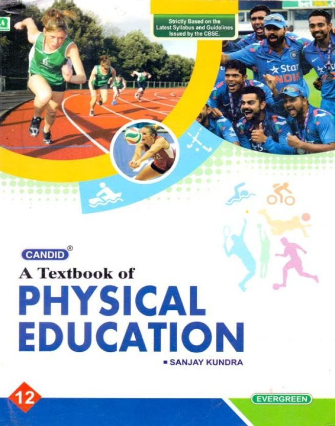 Physical Education Book Class 12 Of Saraswati Publication