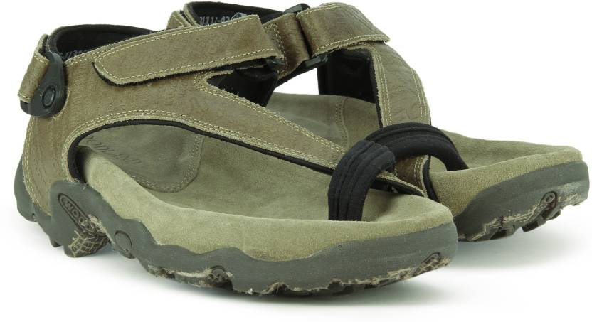5d9f4d8de5fe1 Woodland Men KHAKI Sandals - Buy KHAKI Color Woodland Men KHAKI Sandals  Online at Best Price - Shop Online for Footwears in India
