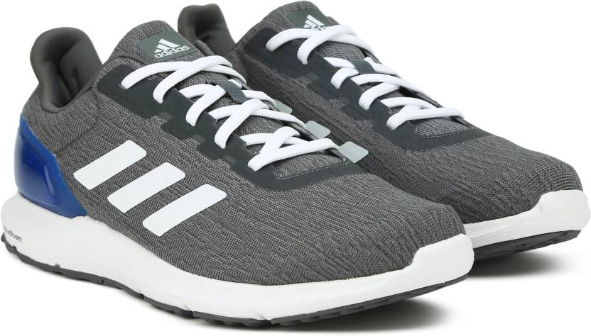 finest selection 239eb 83d70 ADIDAS COSMIC 2 M Running Shoes For Men (Grey, Blue)