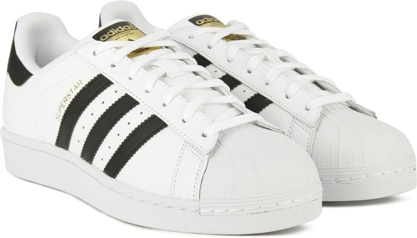 adidas originals superstar sneakers for men buy ftwwht cblack rh flipkart com
