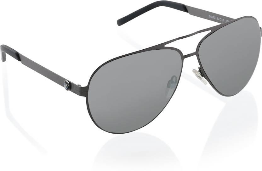 76d32ab5529b Buy BMW Aviator Sunglasses Multicolor For Men Online   Best Prices ...