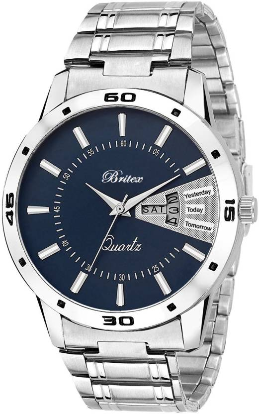 Britex BT6199 Day and Date Functioning Watch - For Men