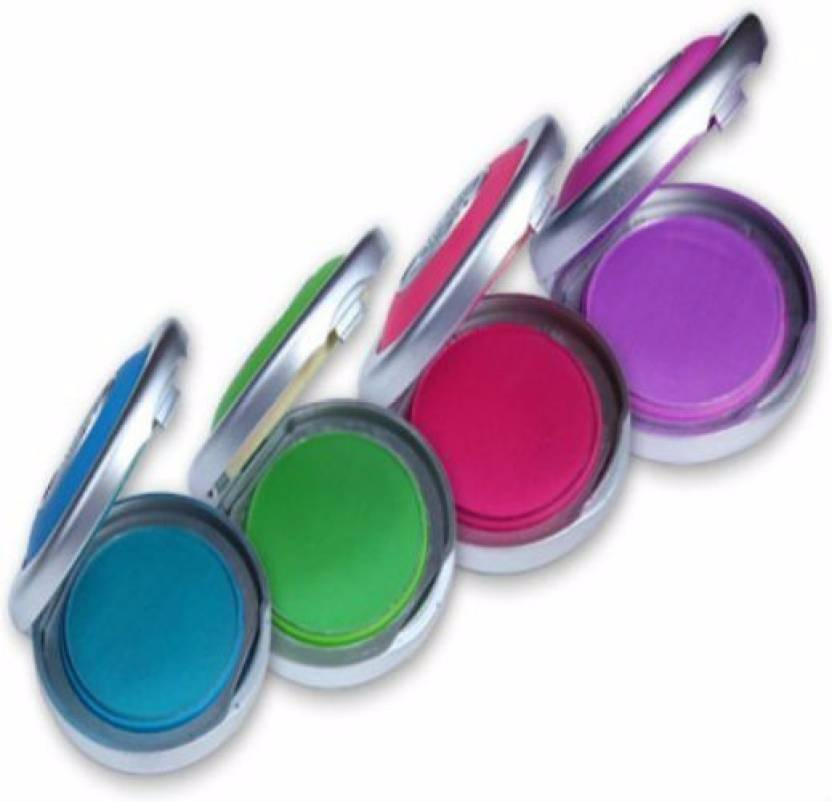 Mk Hot Huez Temorary Hair Chalk With 4 Colors Hot Huez Temorary