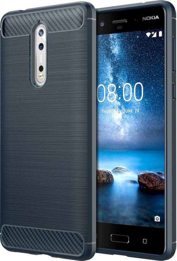 premium selection b0642 1a8c3 REALIKE Back Cover for Nokia 8