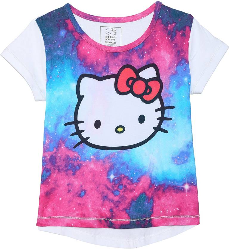 c7ed911674 Hello Kitty Girl s Graphic Print Cotton T Shirt Price in India - Buy ...