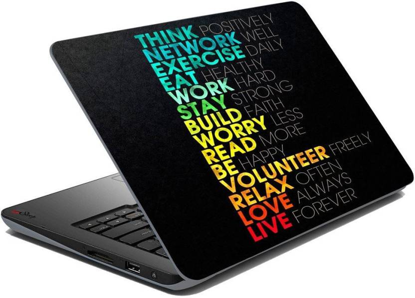 elton motivational theme 3m skin case vinyl laptop skin case sticker