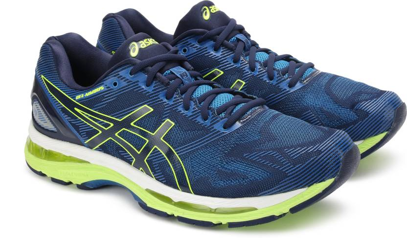 online retailer ffbb2 c93a3 Asics GEL-NIMBUS 19 Running Shoes For Men - Buy INDIGO BLUE ...
