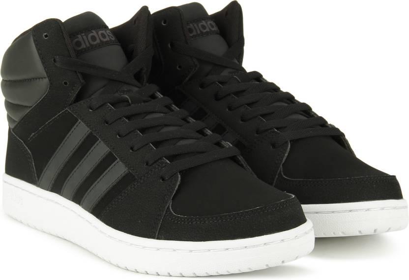 0cabf636001 ADIDAS NEO VS HOOPS MID Sneakers For Men - Buy CBLACK/CBLACK/UTIBLK ...