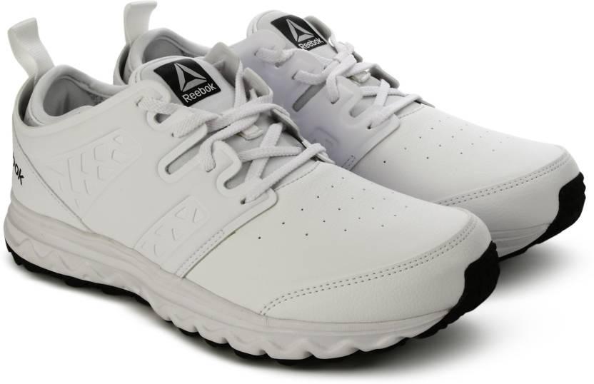 4b81d0db55108 REEBOK WALK OPTIMUM Running Shoes For Men - Buy WHITE MET SIL PEWTER ...