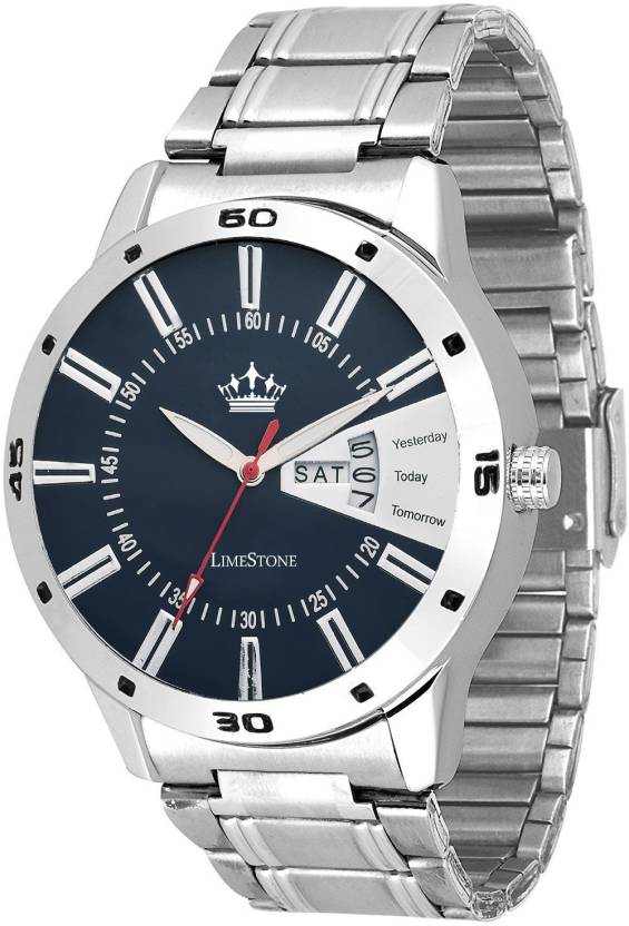 LimeStone LS2647 Free Size Day and Date functioning Watch - For Men