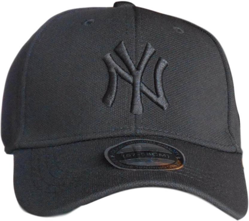 Huntsman Era Solid Flexfit Fitted NY Baseball Cap - Buy Huntsman Era Solid Flexfit  Fitted NY Baseball Cap Online at Best Prices in India  9819e29f8169