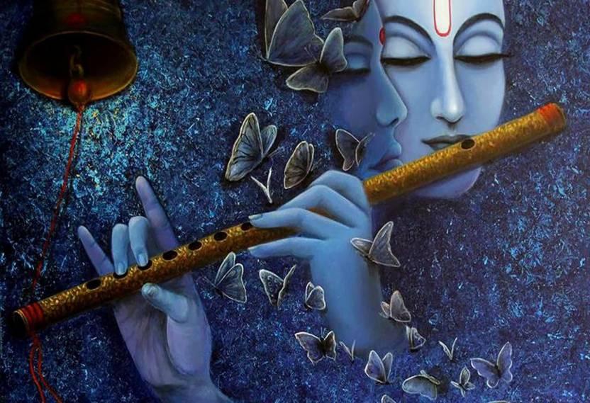 Image result for KRISHNA JI FLUTE,NARI