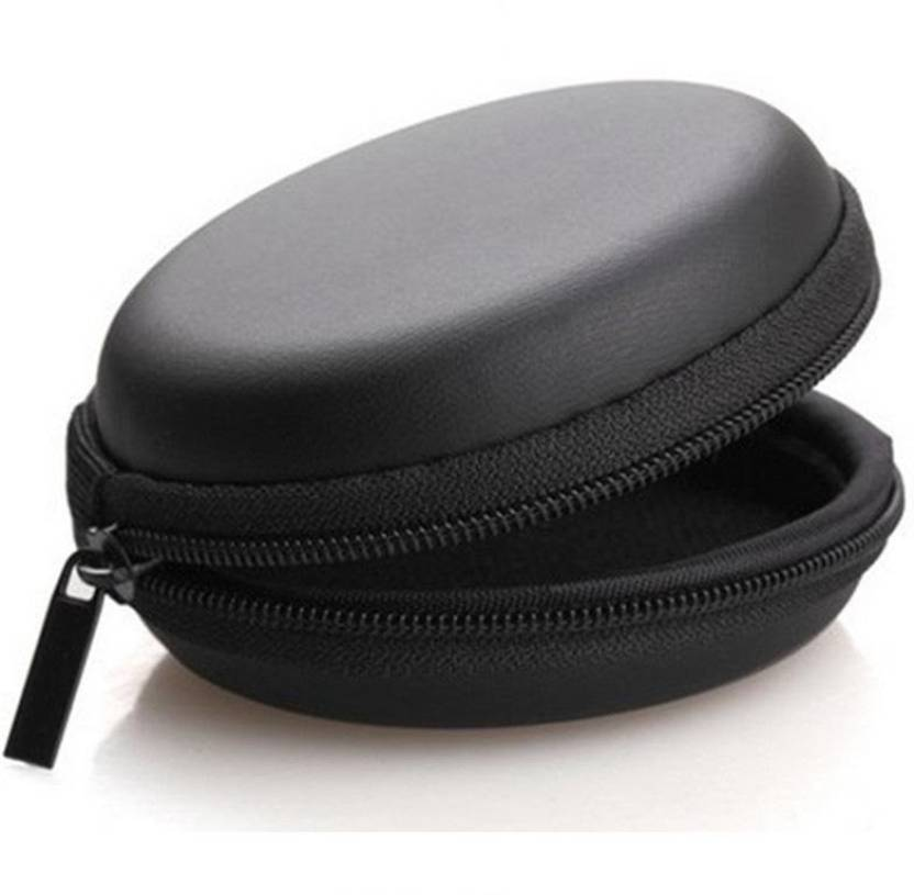 ReTrack Leather Zipper Headphone Pouch