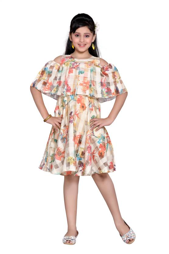 e01924f43af5 Hunny Bunny Girls Mini/Short Casual Dress Price in India - Buy Hunny ...