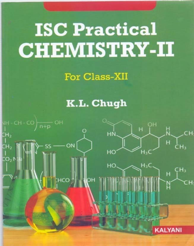 ISC Practical Chemistry - 2 Class 12: Buy ISC Practical