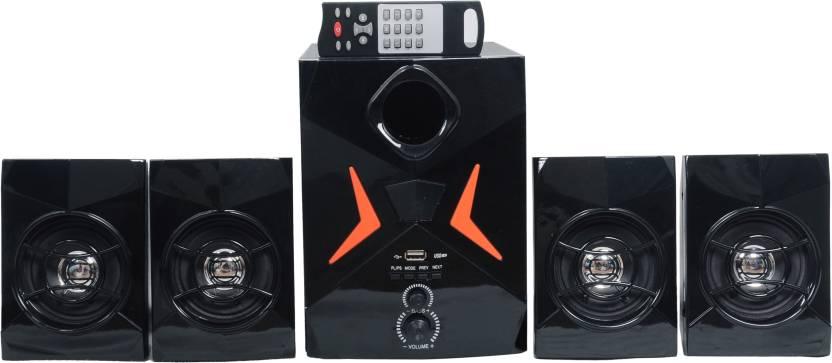 Barry John BJ-4.1-HT-18000W-B Wooden/Plastic Multimedia Speakers System (Black) 4.1 Home Cinema  (Home Theater)