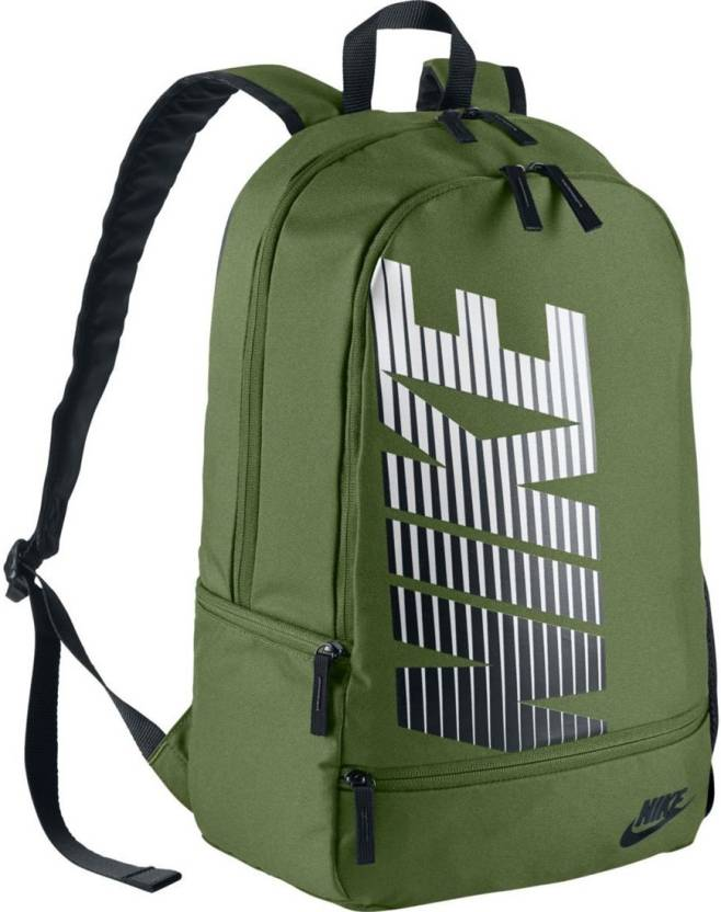 f217d714a7 Nike BA4863-387 25 L Backpack Green - Price in India