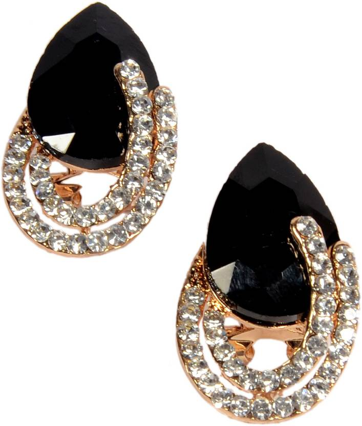 110e2809d Flipkart.com - Buy Mansiyaorange Mansiyaorange Indo Western Designer Earrings  Tops Alloy Clip-on Earring Online at Best Prices in India