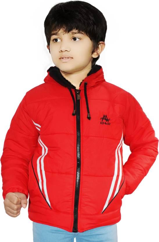 AD & AV Full Sleeve Solid Boys Jacket