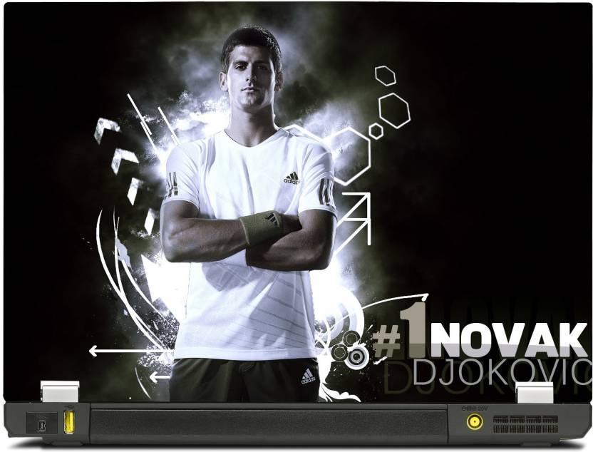 471adfa456 SkinShack New 3D Novak Djokovic No 1 Tennis (17 inch) Vinyl Laptop Decal 17  Price in India - Buy SkinShack New 3D Novak Djokovic No 1 Tennis (17 inch)  Vinyl ...