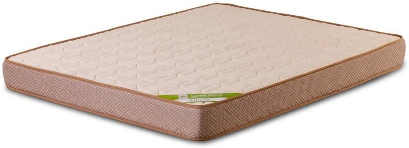 Amara Latex Ultra 6 Inch Double Latex Foam Mattress Price In India