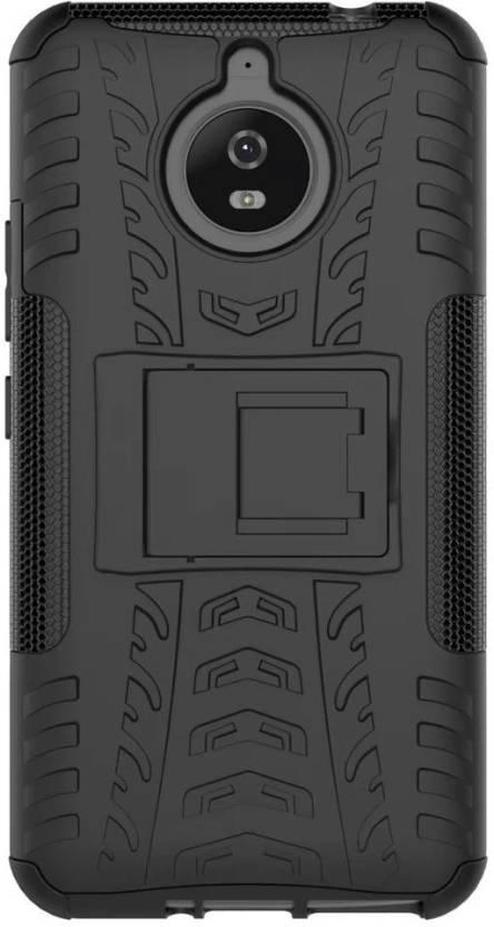 Flipkart SmartBuy Back Cover for Motorola Moto E4 Plus Black