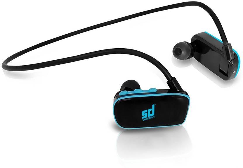 Smiledrive Swimming Waterproof Mp3 Player Earphones Headphones with