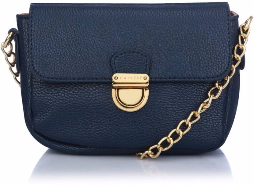 Caprese Women Evening Party Blue Leatherette Sling Bag Navy Blue - Price in  India  83e24cfb6