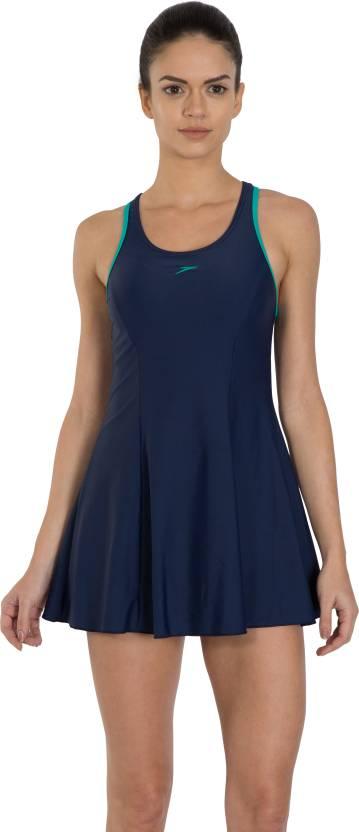 e4a1014a12 Speedo Female Swimwear Racerback Swimdress With Boyleg - Buy Speedo ...