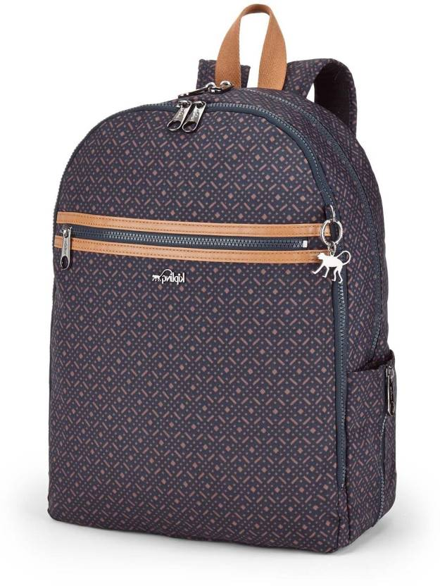 55f153ed987 Kipling DEEDA N 19 L Backpack Woven Blue Geo - Price in India ...