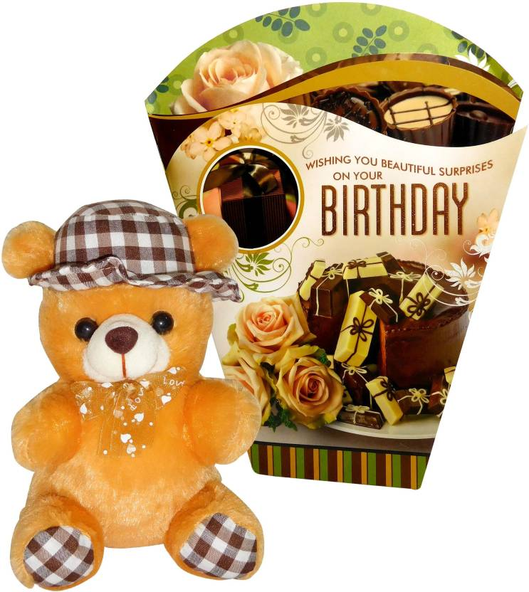 Siddhi Gifts Unique Birthday For Him Greeting Card With Cute Soft Teddy Price In India