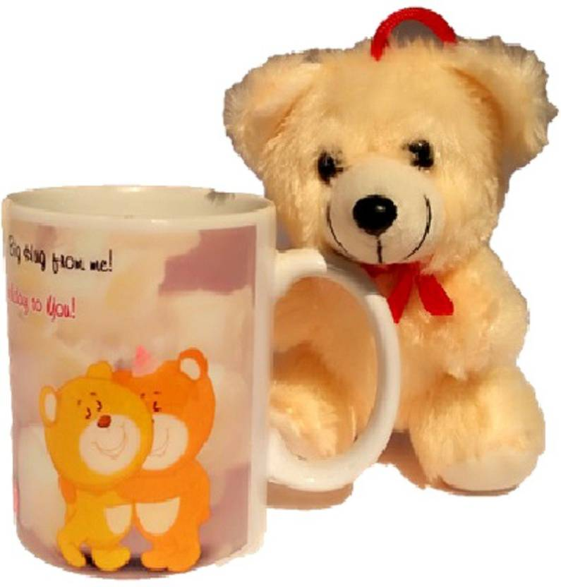 TECHNOCHITRA BIRTHDAY WISHES AND THANKS GIVING GIFT MUG TEDDY SET FOR YOUR FRIENDS SISTER BROTHER MOTHER FATHER RELATIVES LOVED