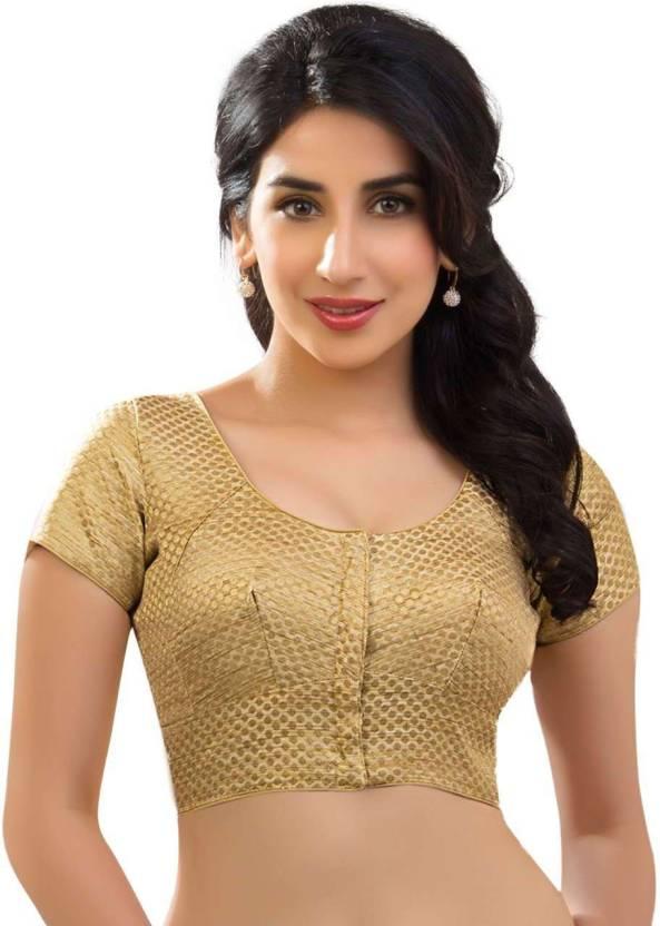 4e54c464fae263 Muhenera Round Neck Women Stitched Blouse - Buy Muhenera Round Neck Women  Stitched Blouse Online at Best Prices in India | Flipkart.com