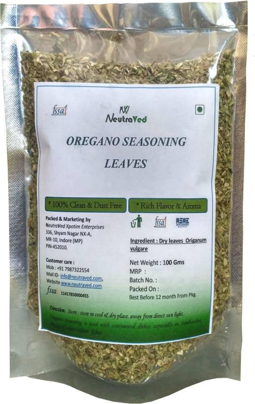 Neutraved Oregano Seasoning Leaves