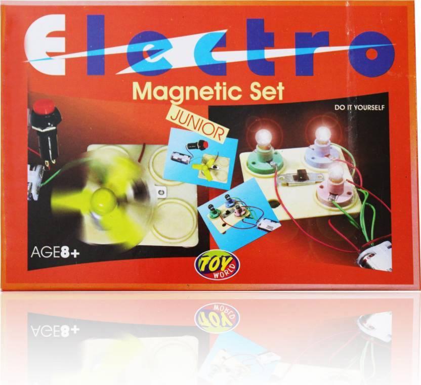 ba55585c AR Enterprises Electro Magnetic Set Kit for Kids Science Experiments Basic  Toys Game (Multicolor) (Multicolor)