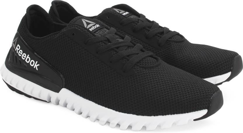 ff309f360e2a REEBOK TWISTFORM 3.0 MU Running Shoes For Men - Buy BLACK WHITE ...