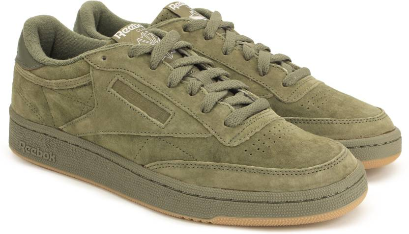 918de265bf5 REEBOK CLUB C 85 SG Sneakers For Men - Buy HUNTER GREEN WHITE-GUM ...