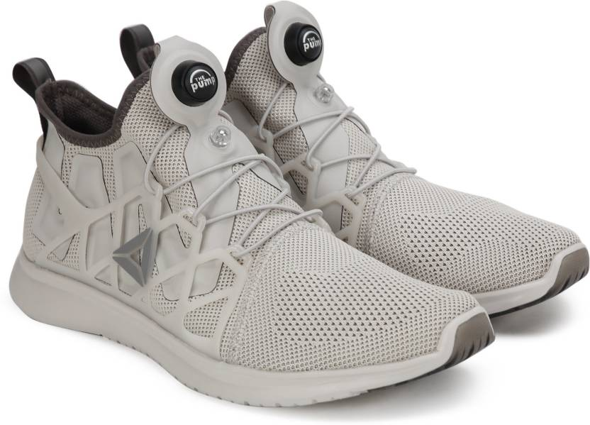 9dc5f55b0c6 REEBOK PUMP PLUS CAGE Running Shoes For Men - Buy SANDSTONE GREY ...