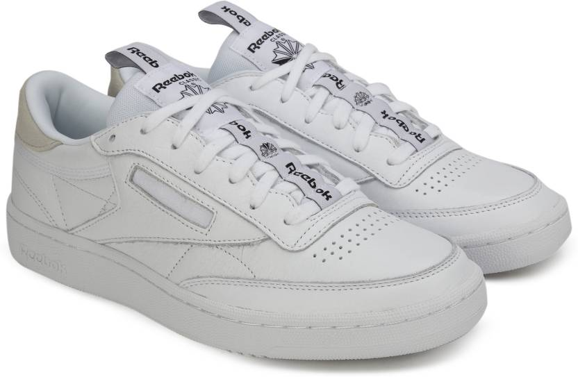 891072b2b4cf2 REEBOK CLUB C 85 IT Sneakers For Men - Buy WHITE SKULL GREY BLACK ...